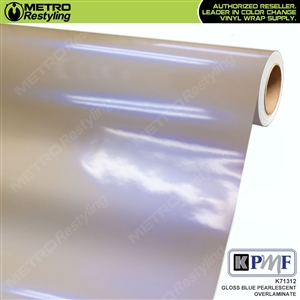 KPMF Speciality Over-Laminating Films Blue Gloss Pearlescent