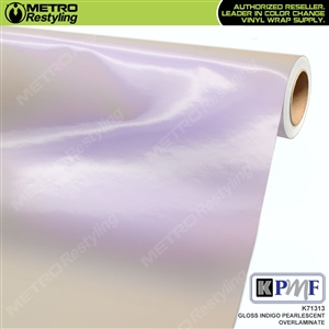 KPMF Speciality Over-Laminating Films Indigo Gloss Pearlescent