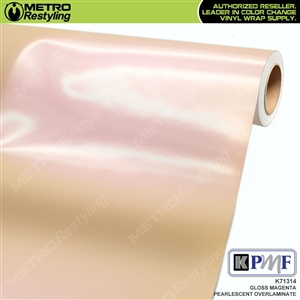 KPMF Speciality Over-Laminating Films Magenta Gloss Pearlescent