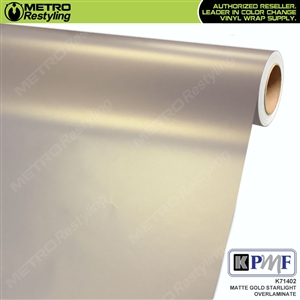 KPMF Speciality Over-Laminating Films Gold Matte Starlight