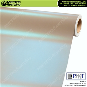 KPMF Speciality Over-Laminating Films Pacific Blue Matte Starlight