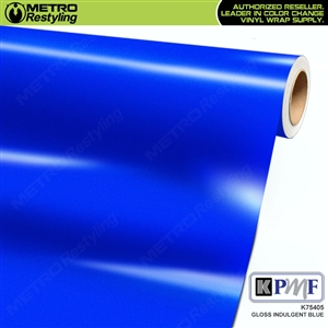 KPMF K75405 Gloss Indulgent Blue vinyl vehicle wrap film