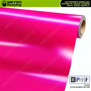 KPMF K75406 Gloss Momentum Pink vehicle wrapping film