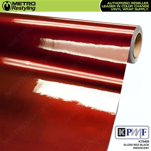 KPMF K75408 Gloss Red Black Iridescent automotive wrapping film