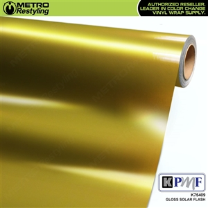 KPMF K75409 Gloss Solar Flash vinyl vehicle wrap film