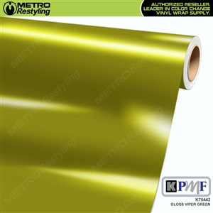 KPMF K75442 Gloss Viper Green vinyl vehicle wrap film