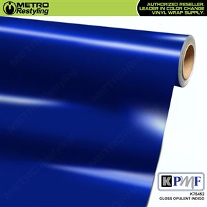 KPMF K75452 Gloss Opulent Indigo vinyl vehicle wrap film