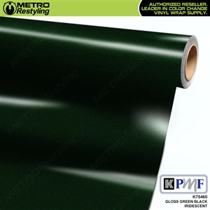 KPMF K75460 Gloss Green Black Iridescent vehicle wrapping film