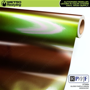 KPMF K75464 Gloss Purple Green Iridescent automotive wrapping film