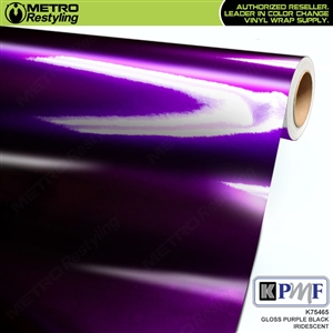 dark purple car wrap