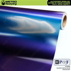 KPMF K75466 Gloss Purple Blue Iridescent automotive wrapping film