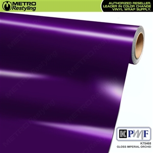 KPMF K75468 Gloss Imperial Orchid vinyl vehicle wrap film
