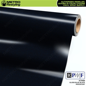 KPMF K75469 Gloss Blue Black Iridescent automotive wrapping film