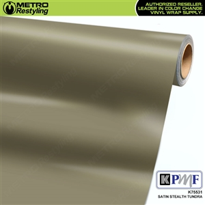 KPMF K75531 Satin Stealth Tundra automotive wrap film