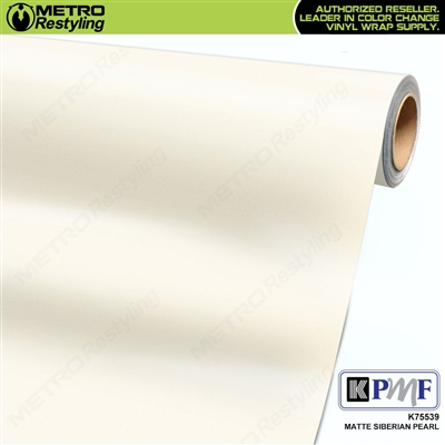 KPMF K75539 Matte Siberian Pearl vinyl car wrapping film.