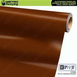KPMF K75549 Matte Anodized Bronze vinyl car wrapping film.