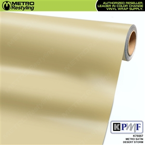 KPMF K75557 Satin Metro Desert Storm vehicle wrapping film