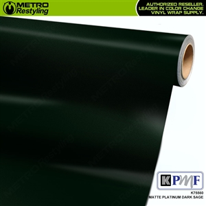 KPMF K75560 Matte Platinum Dark Sage automotive wrapping film