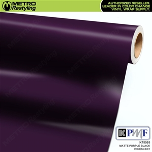 KPMF K75565 Matte Purple Black Iridescent automotive wrapping film