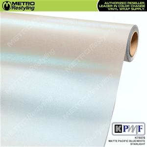 KPMF K75576 Matte Pacific Blue Starlight Iridescent automotive wrapping film