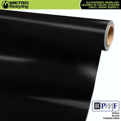 KPMF K87000 Series Black Carbon Fiber vehicle wrapping film
