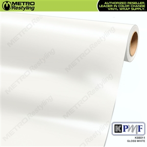KPMF K88011 Gloss White vinyl vehicle wrap film