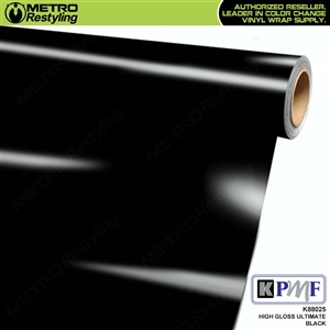 KPMF K88025 High Gloss Ultimate Black wrap vinyl film