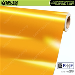 KPMF K88031 Gloss Sunflower vinyl vehicle wrap film