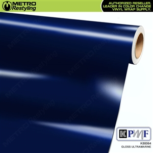 KPMF K88064 Gloss Ultramarine vinyl vehicle wrap film