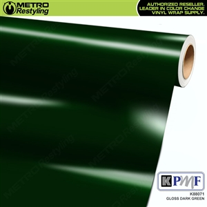 KPMF K88071 Gloss Dark Green vinyl vehicle wrap film