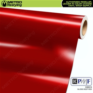 KPMF K88519 Gloss Deep Red vinyl vehicle wrap film