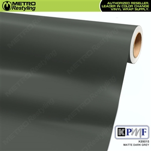 KPMF K89015 Matte Dark Grey vinyl vehicle wrap film