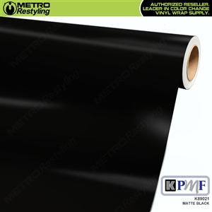 KPMF K89021 Matte Black vinyl vehicle wrap film