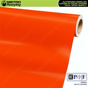 KPMF K89041 Matte Orange vinyl vehicle wrap film