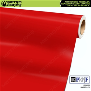 KPMF K89053 Matte Red vinyl vehicle wrap film