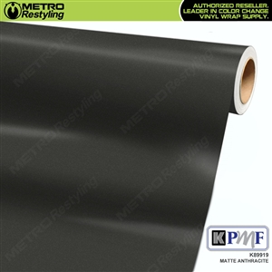 KPMF K89919 Matte Anthracite vinyl vehicle wrap film