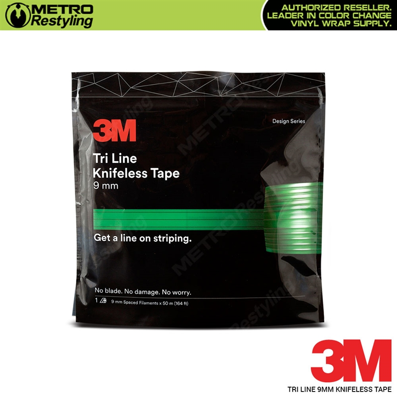 3m Tri Line Knifeless Tape 164 Foot Roll