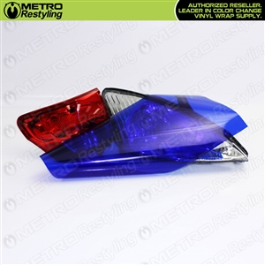 colored tail light vinyl