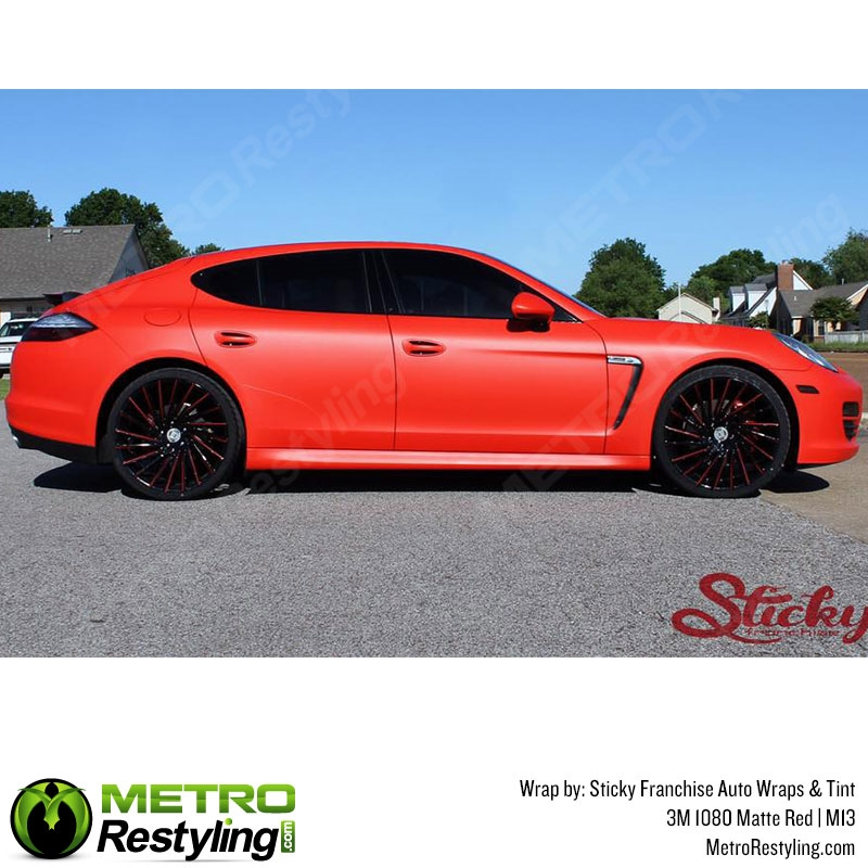 3m 1080 M13 Matte Red Car Wrap Vinyl Is An Awesome Way Of Upgrading