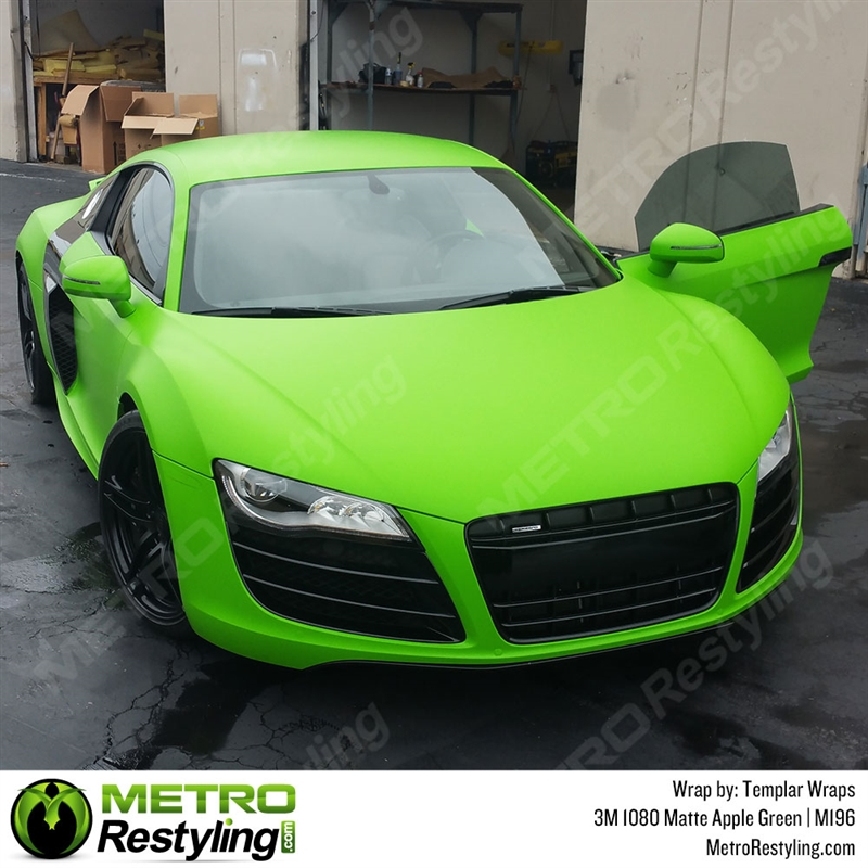 Pearlescent Car Paint >> 3M 1080 M196 Matte Apple Green car wrap vinyl is an awesome way of upgrading your vehicle.