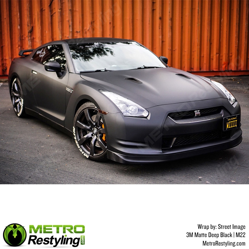 Matte Black Car Wrap >> 3m 1080 M22 Matte Deep Black Car Wrap Vinyl Is An Awesome Way Of