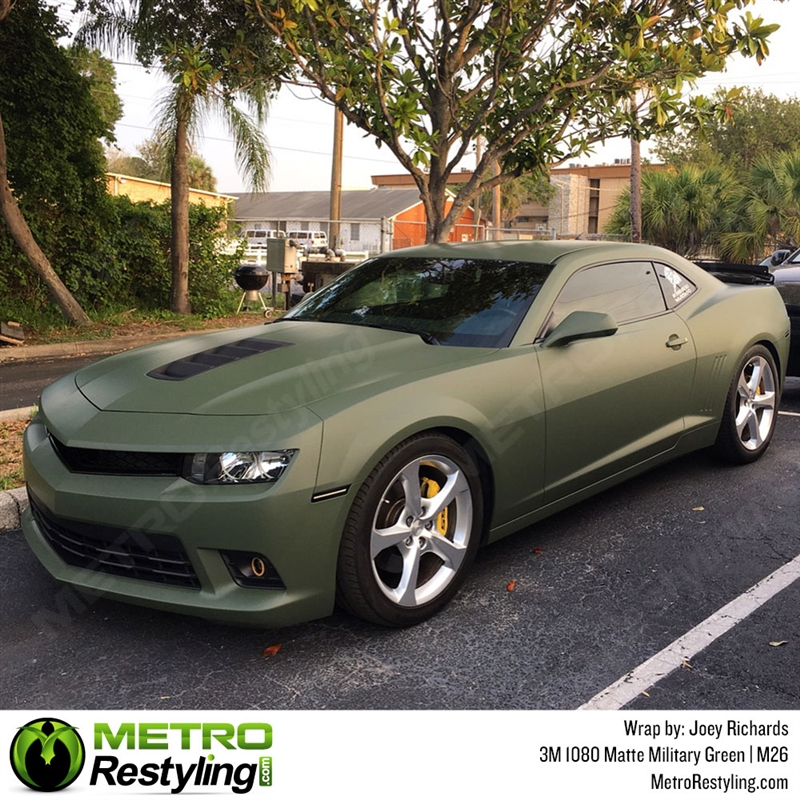 3m 1080 M26 Matte Military Green Car Wrap Vinyl Is An Awesome Way Of