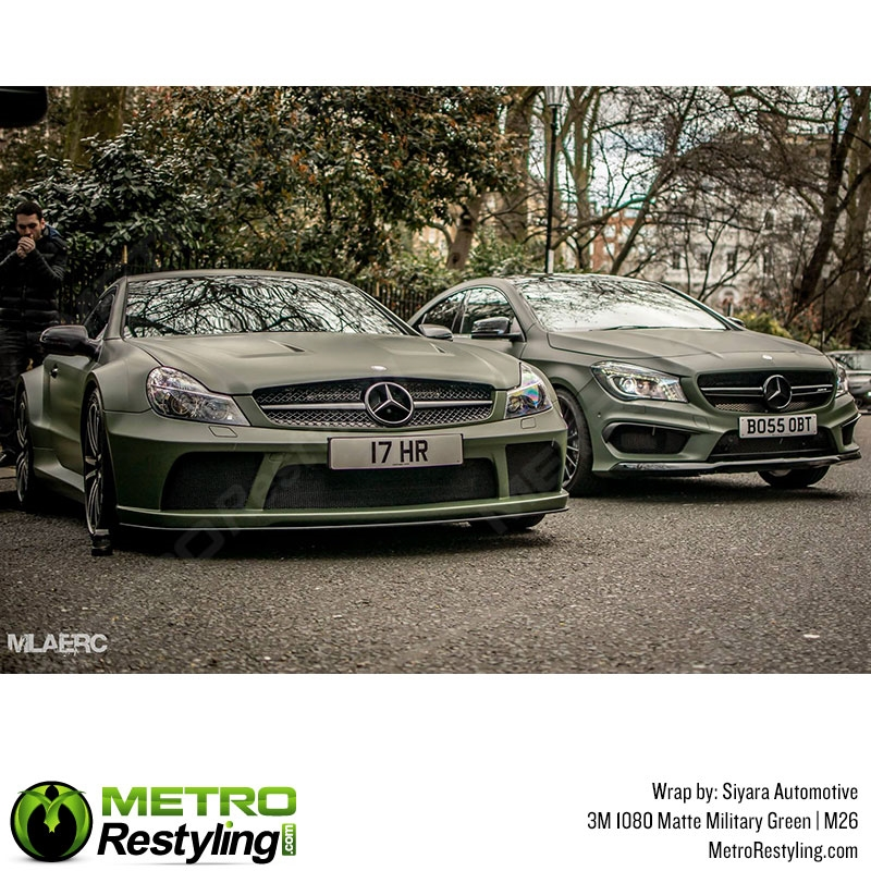3m 1080 M26 Matte Military Green Car Wrap Vinyl Is An Awesome Way