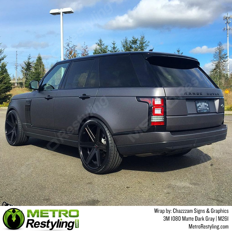 3m 1080 M261 Matte Dark Gray Car Wrap Vinyl Is An Awesome