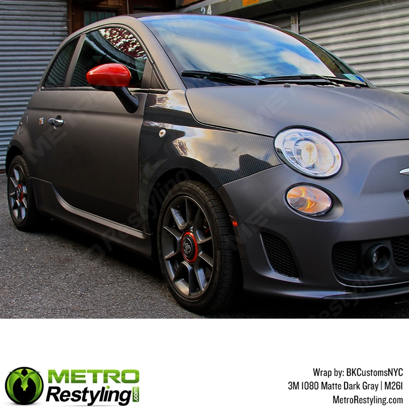 3m 1080 M261 Matte Dark Gray Car Wrap Vinyl Is An Awesome Way Of