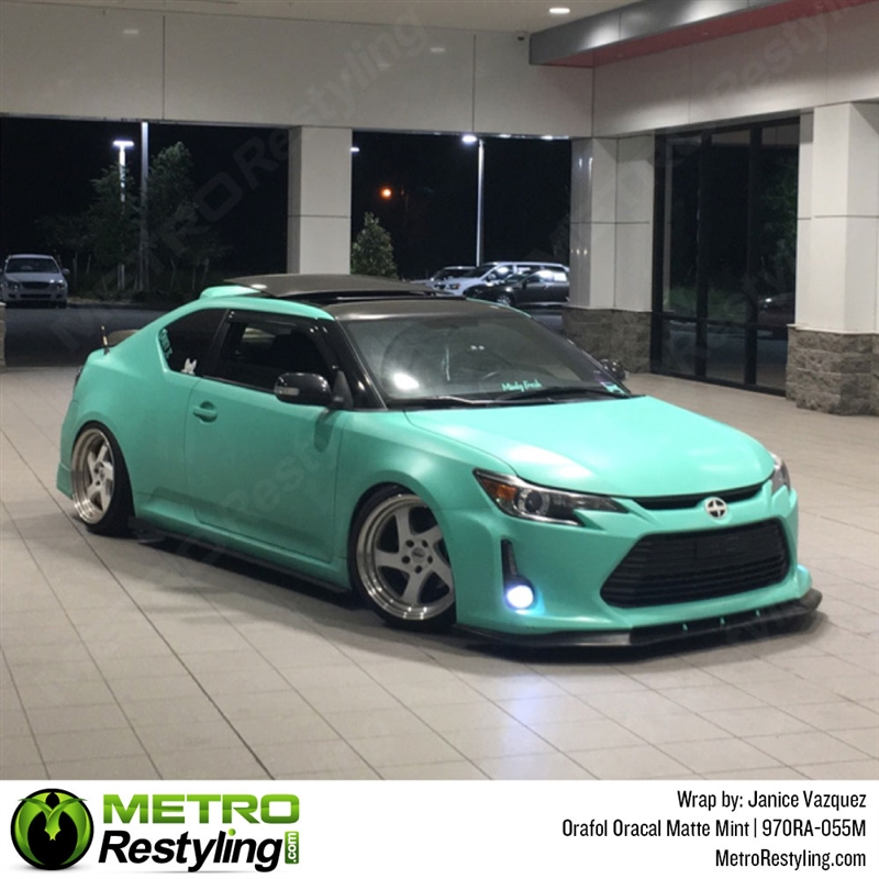 Oracal Series 970ra Matte Mint Vinyl Wrap Film W Rapid Air