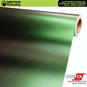 ORACAL Series 970RA-317M Matte Avocado Premium Shift Effect Vinyl Car Wrap