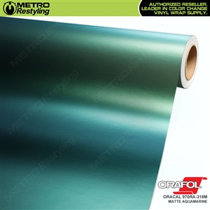 ORACAL Series 970RA-318M Matte Aquamarine Premium Shift Effect Vinyl Car Wrap