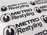 MetroRestyling Decal