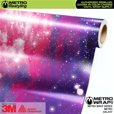 Metro Galaxy Vinyl Car Wrap Film